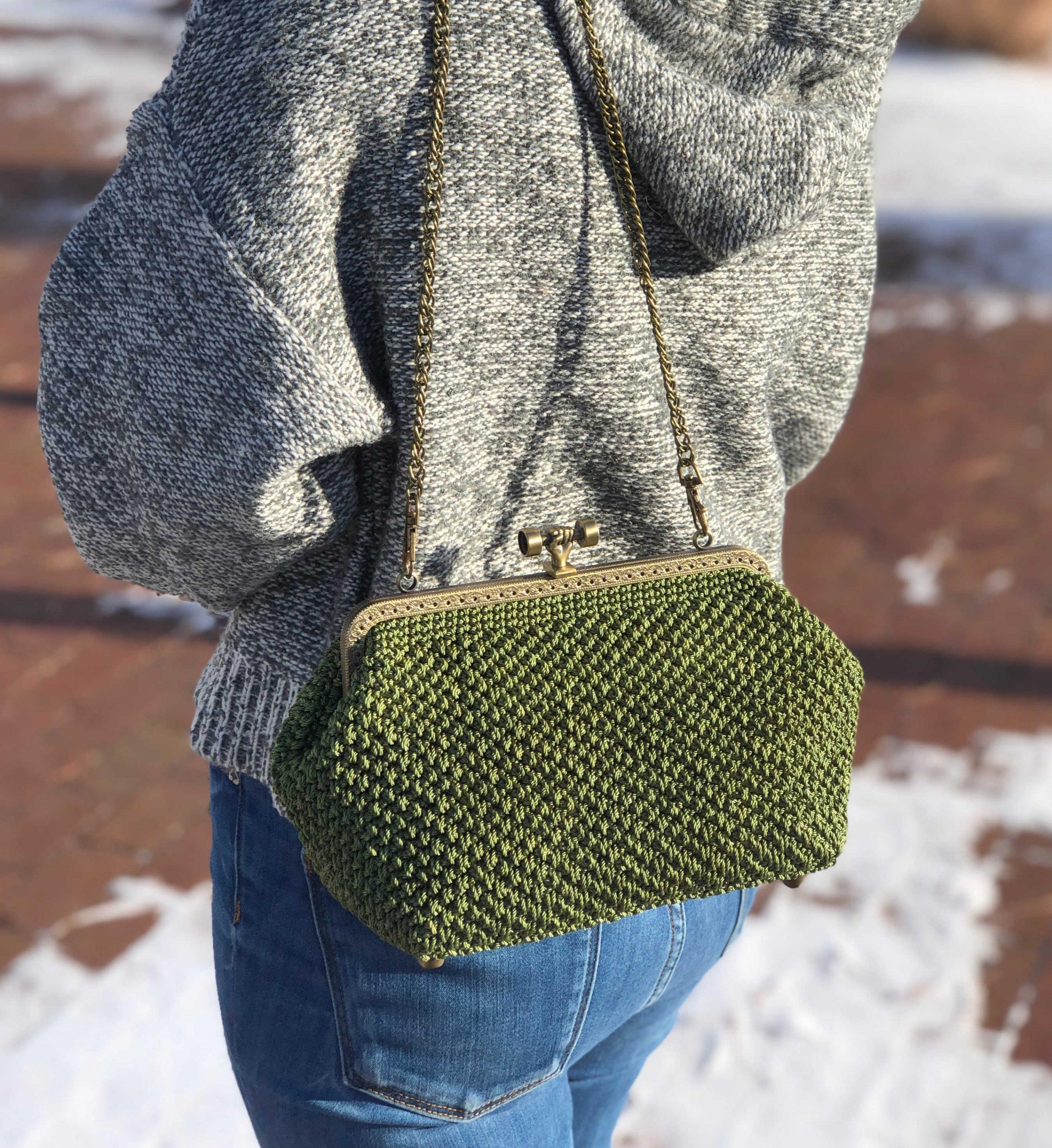 Crochet Purseclutch Bag Free Video Tutorial Knitcroaddict