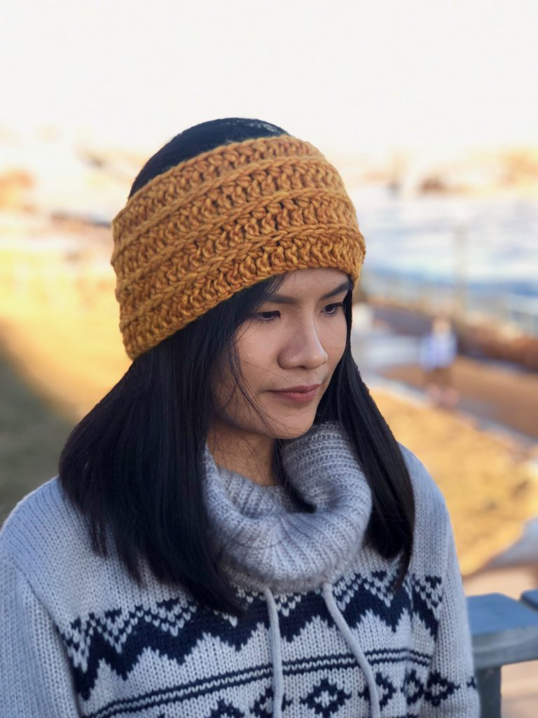 Crochet Headband Free Written Pattern And Video Tutorial