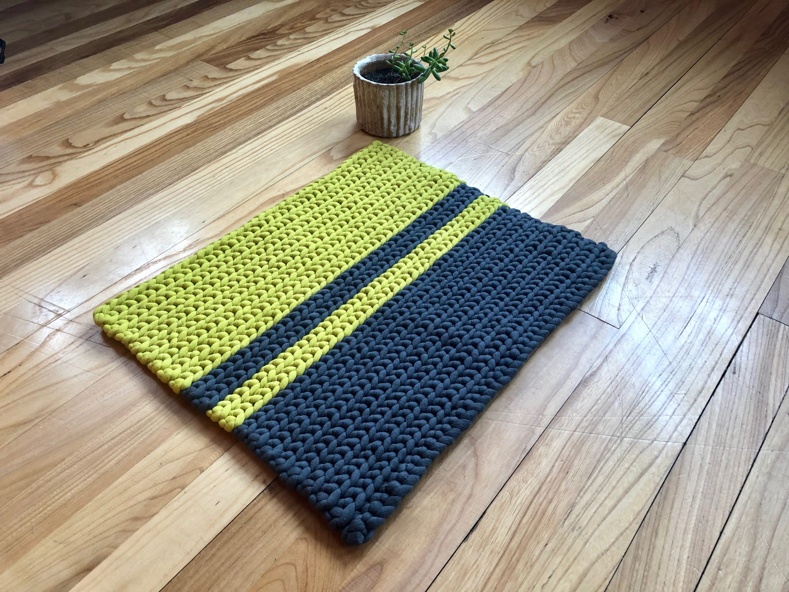 Crochet Rug Written Pattern Tutorial Knitcroaddict