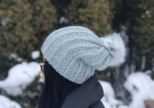 62c1233afd7 Here s a beginner friendly beanie project to close out the winter  (hopefully soon). It s a simple
