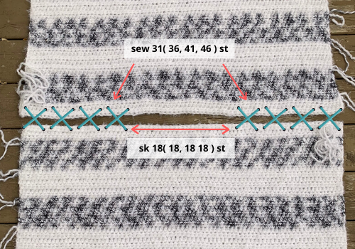 Crochet poncho pattern free written pattern and video tutorial  photo instructions