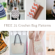 Free 21 crochet bag patterns