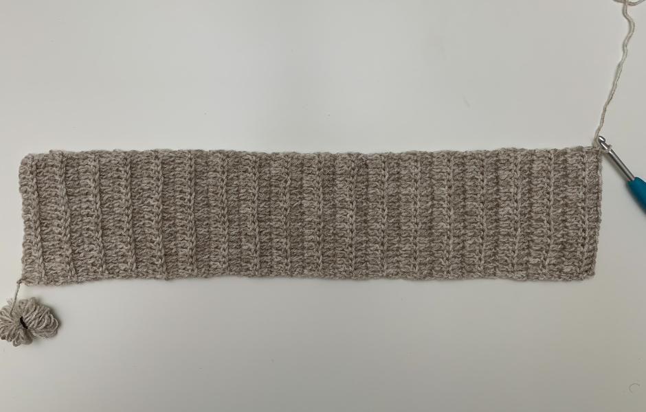 free crochet turtleneck pattern making the body ribbing